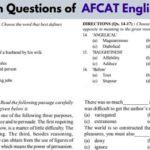 AFCAT-English
