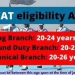 AFCAT eligibility age