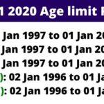 CDS 1 2020 age limit