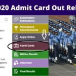 CDS Admit card