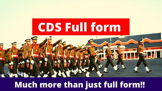 CDS Full form