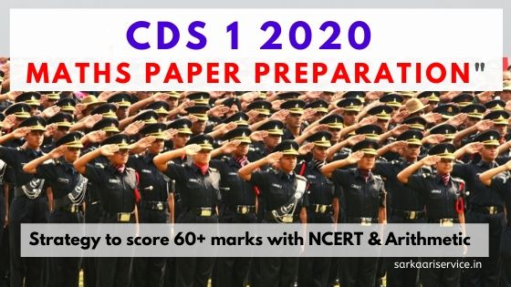 cds maths preparation