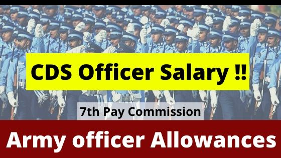 Army officer salary