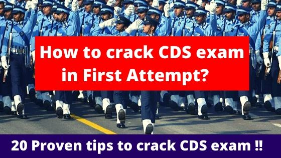 How to crack CDS exam in First Attempt?