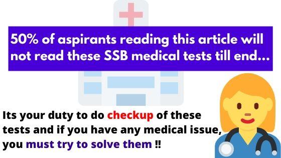 SSB Medical Test