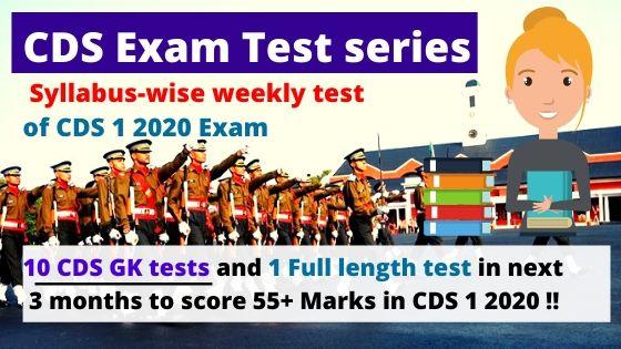 CDS Test series