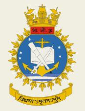 Indian Naval Academy Crest