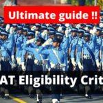 AFCAT eligibility