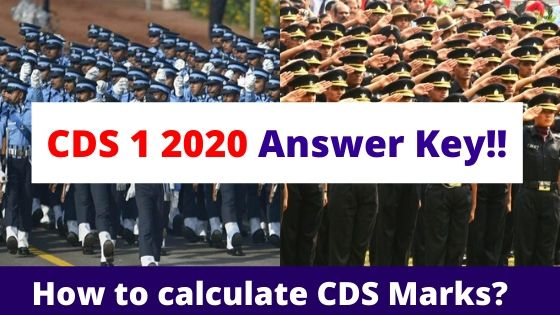 CDS 1 2020 Answer key