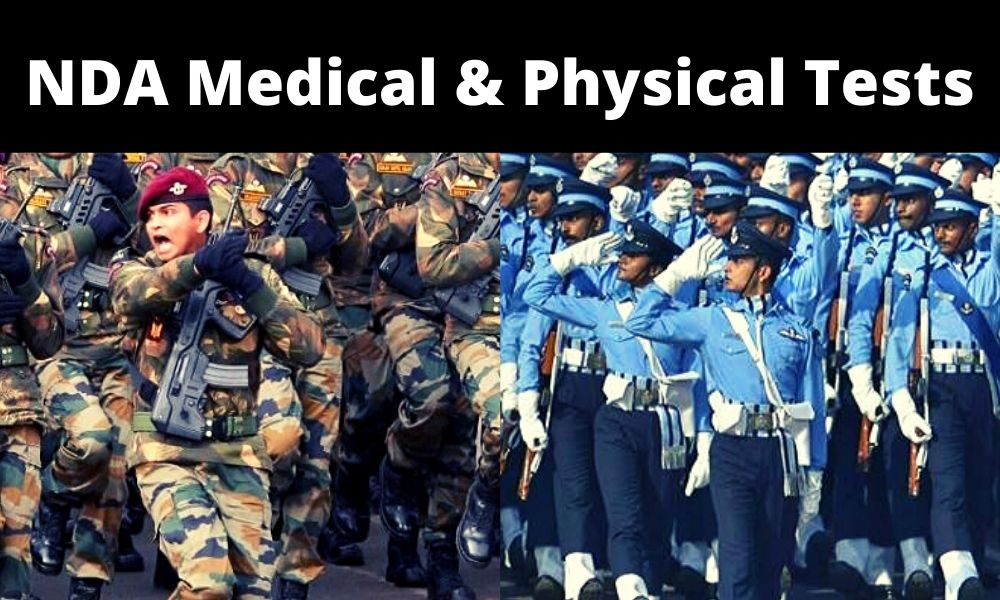 NDA Medical and Physical Test | SSB Medical Test