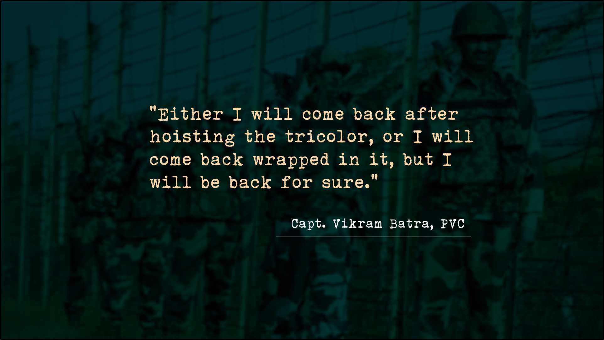 Indian Army motivational Quotes