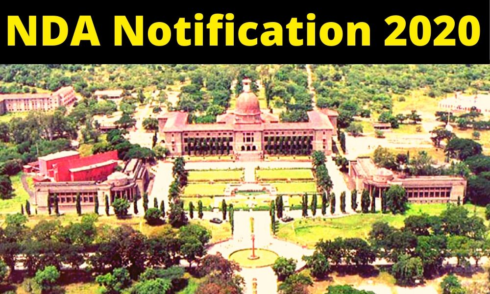 NDA 1 2020 Notification Out ! (Age Limit, Vacancy, Pattern, Syllabus)