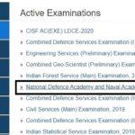 NDA 1 2020 Notification details