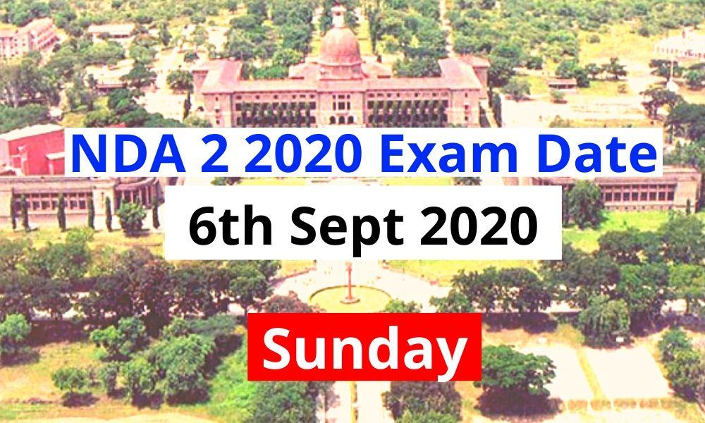NDA 2 2020 Exam Date