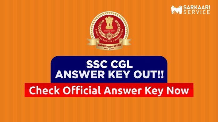 SSC CGL Answer Key Tier 1