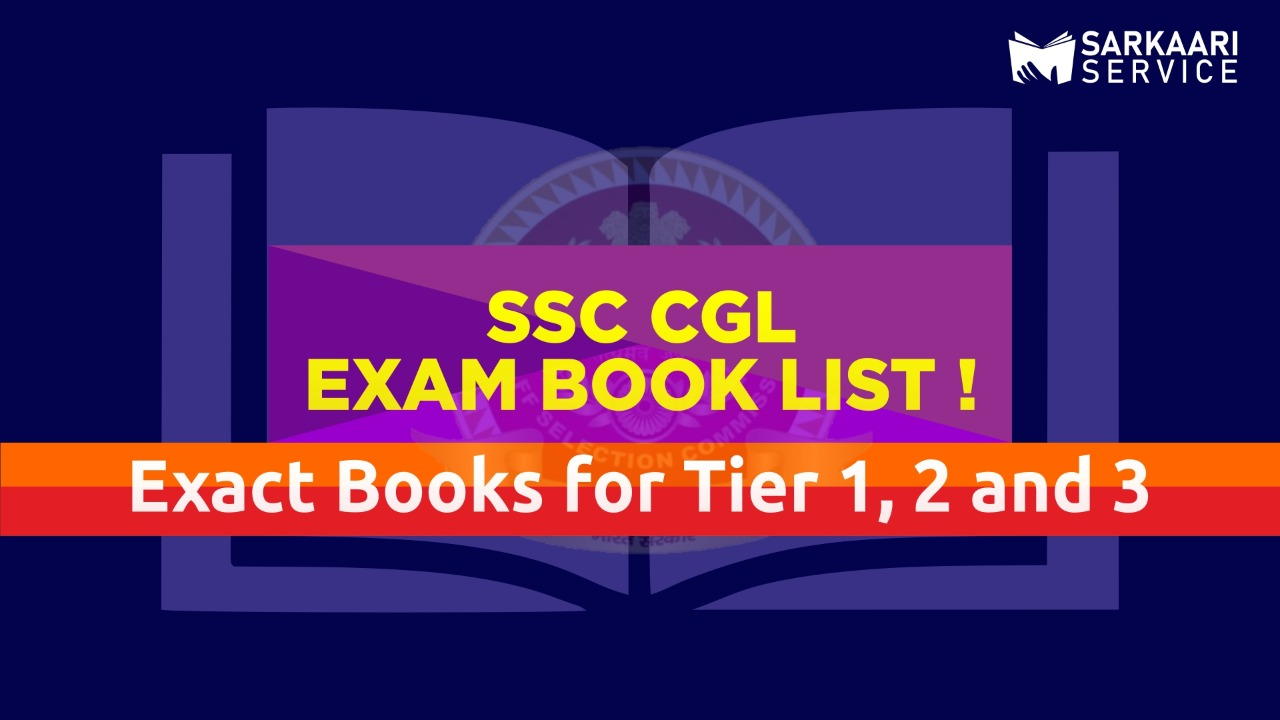 SSC CGL 2020 Books List (Tier 1, 2, 3)