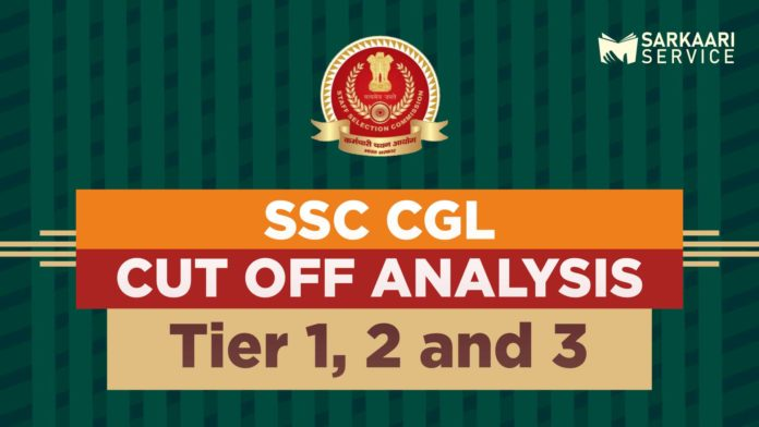 SSC CGL Cut off Analysis