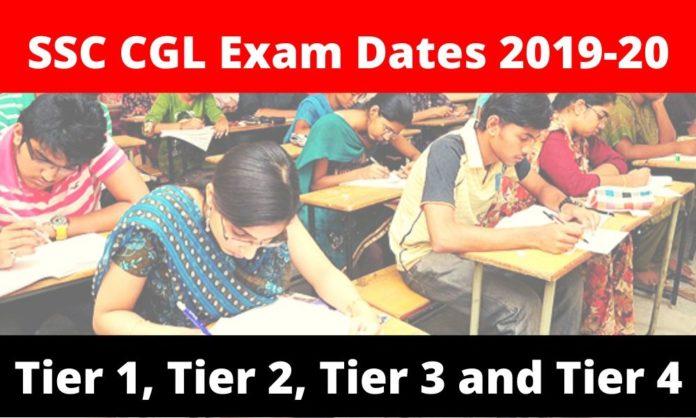 SSC CGL Exam Dates 2020