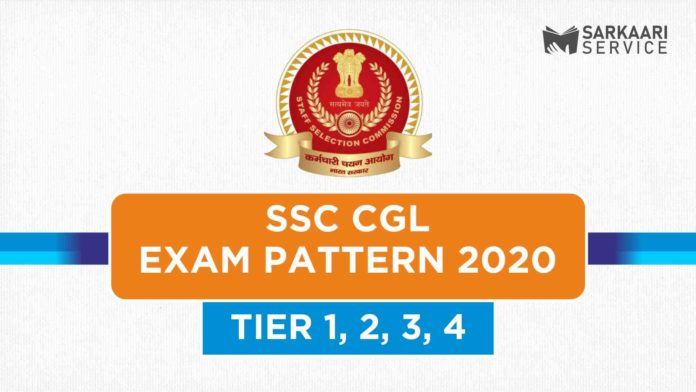 SSC CGL Exam Pattern 2020