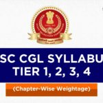 SSC CGL Syllabus 2020