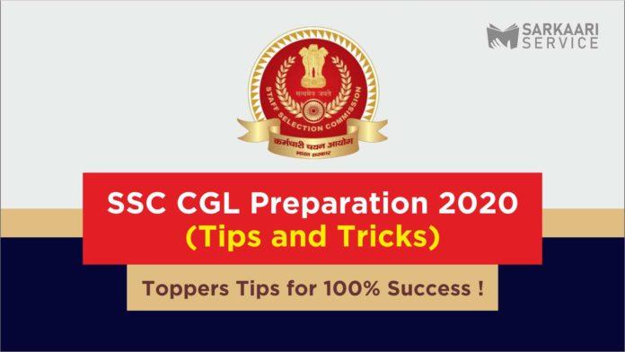SSC CGL preparation