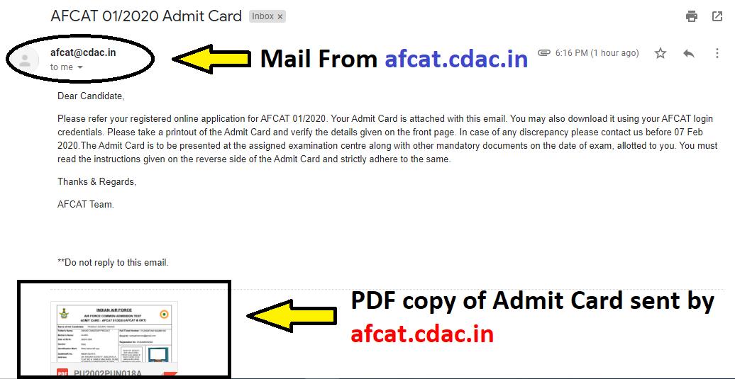 AFCAT Exam Home Page