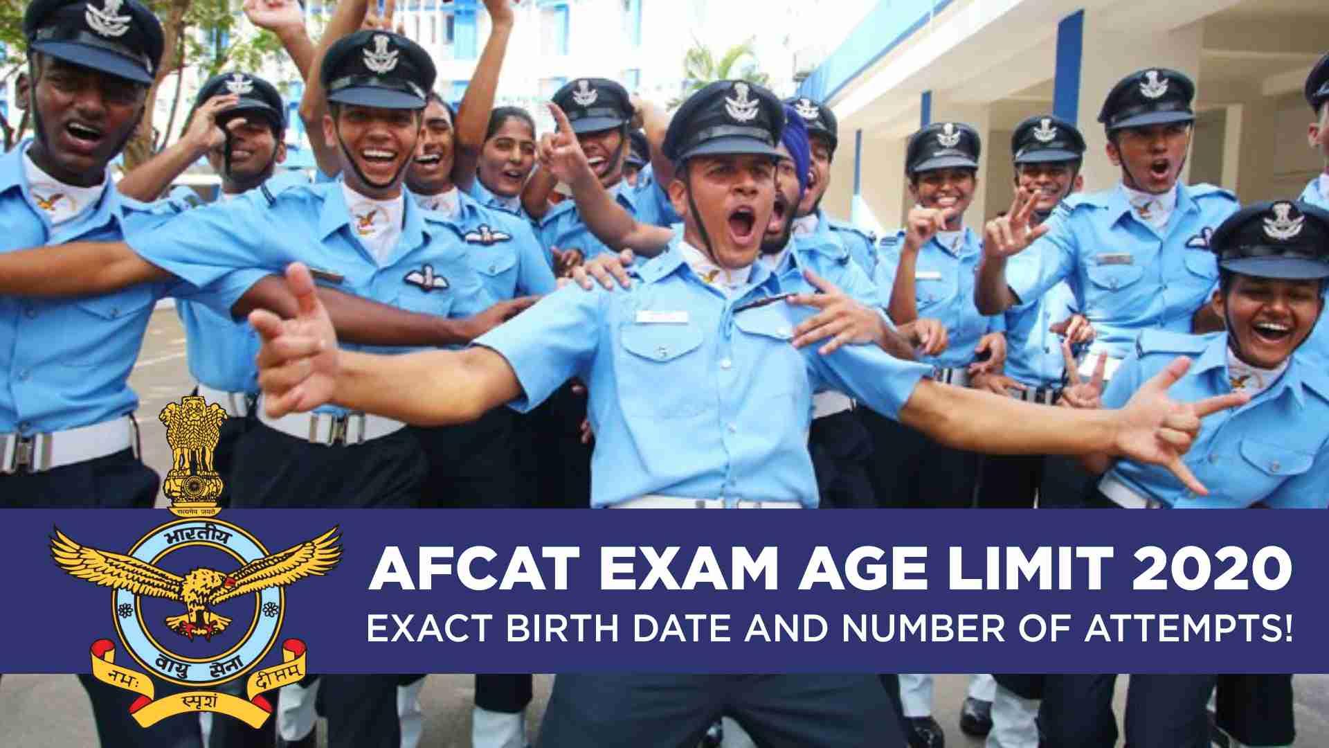 AFCAT Age Limit 2020