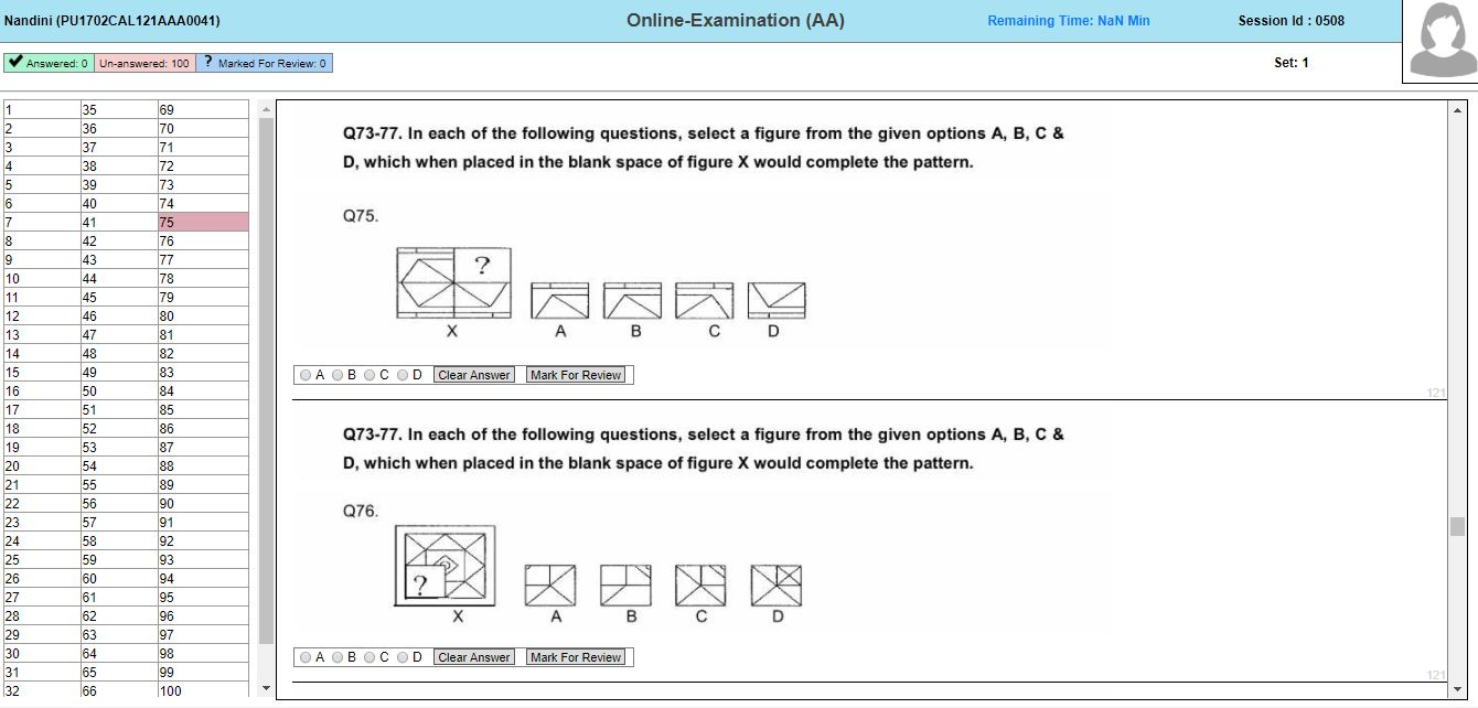 AFCAT Question Paper PDF