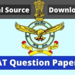 AFCAT Question Paper PDF