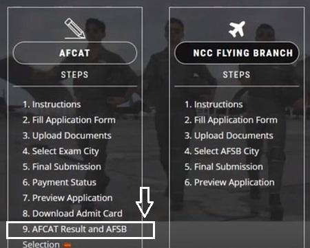 Check AFCAT Result 2020