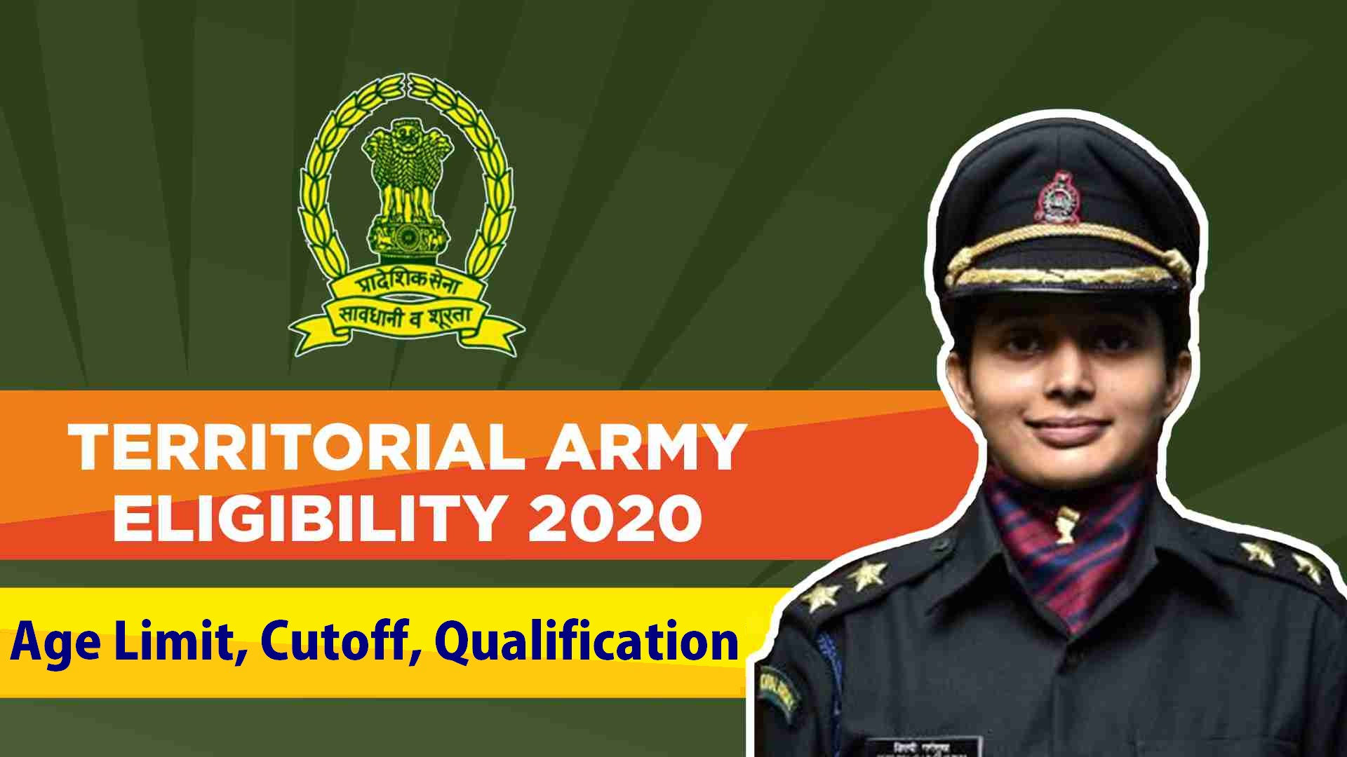 Territorial Army Age Limit