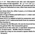 Territorial Army Maths Questions