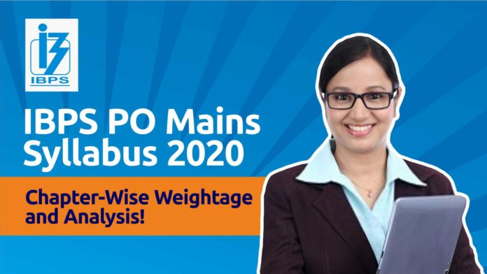 IBPS PO Mains Syllabus