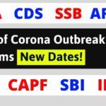 Corona Delayed SSB Interview NDA CDS