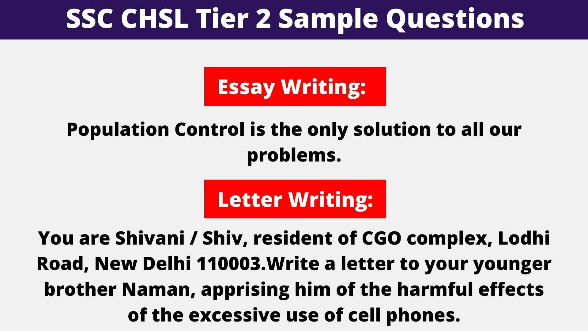 SSC CHSL Questions