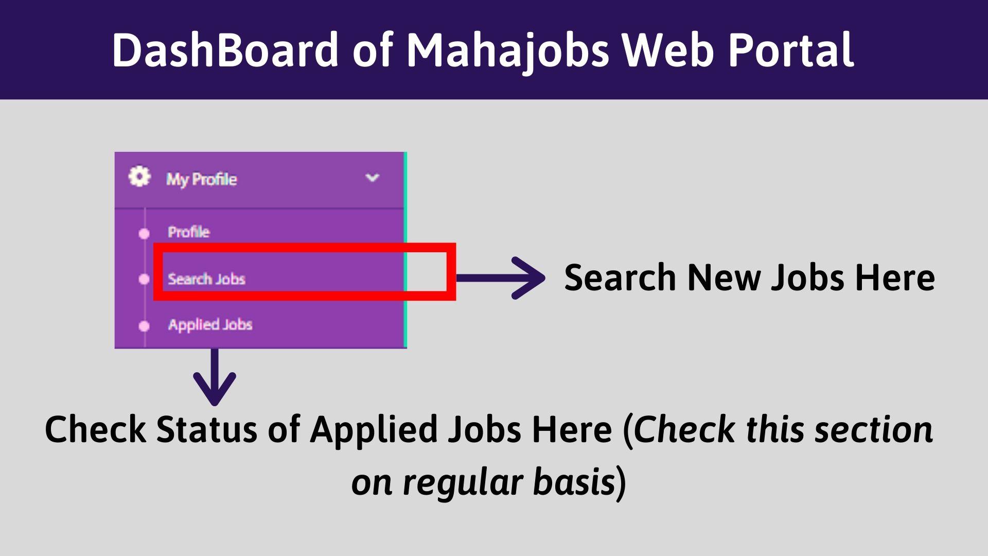 Mahajobs portal Apply Online