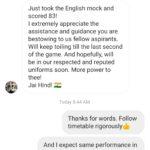 CDS Mock Tests Reviews 6
